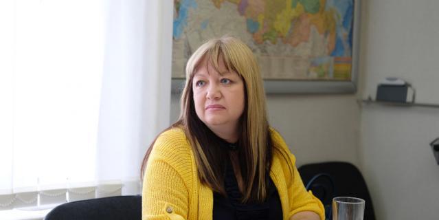 Светлана Бабанская, начальник Управления по работе с государственными органами Северо-Западного Дивизиона ТС