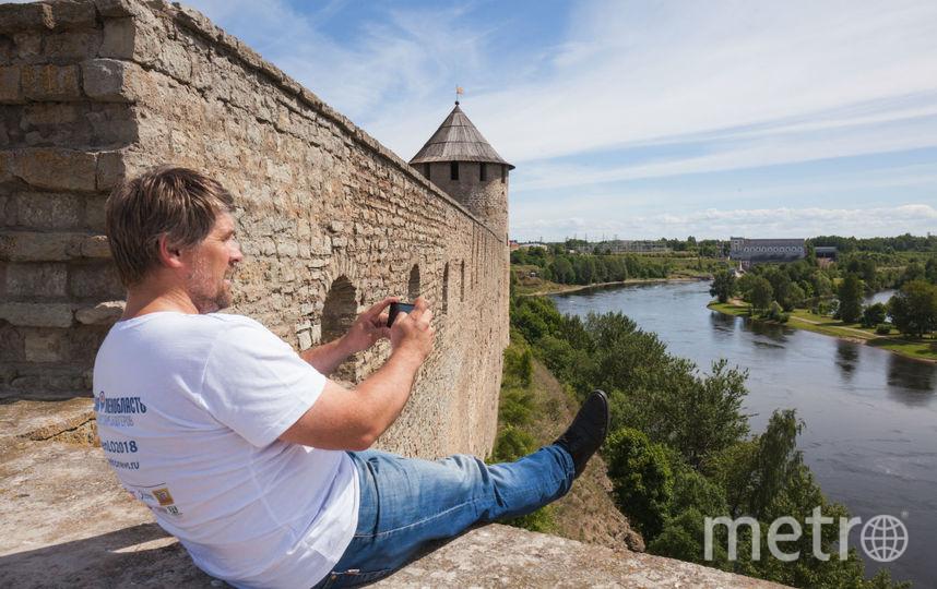 Ивангородская крепость. Фото Арсений Кашкаров.