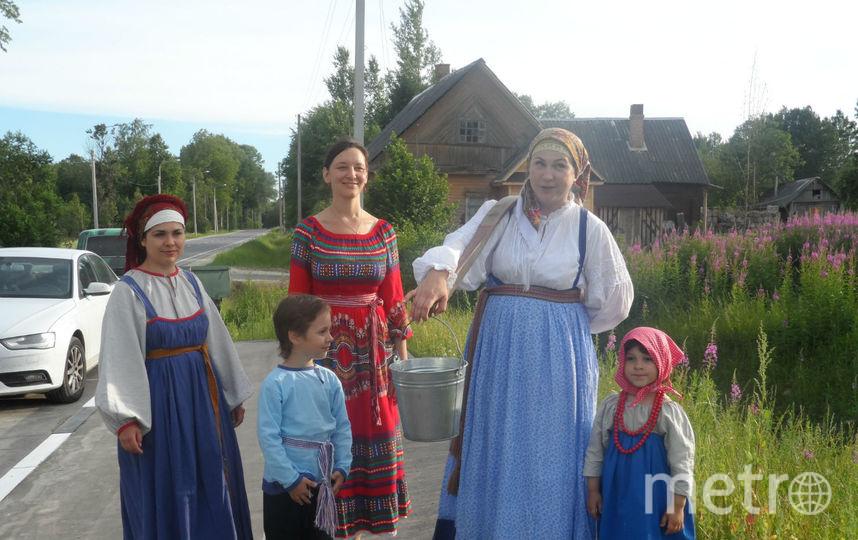 """Так встречают гостей в деревне Засосье. Фото Наталья Сидоровская, """"Metro"""""""