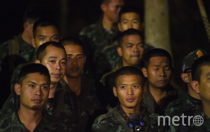 В спасательной операции принимают участие и военные. Фото AFP
