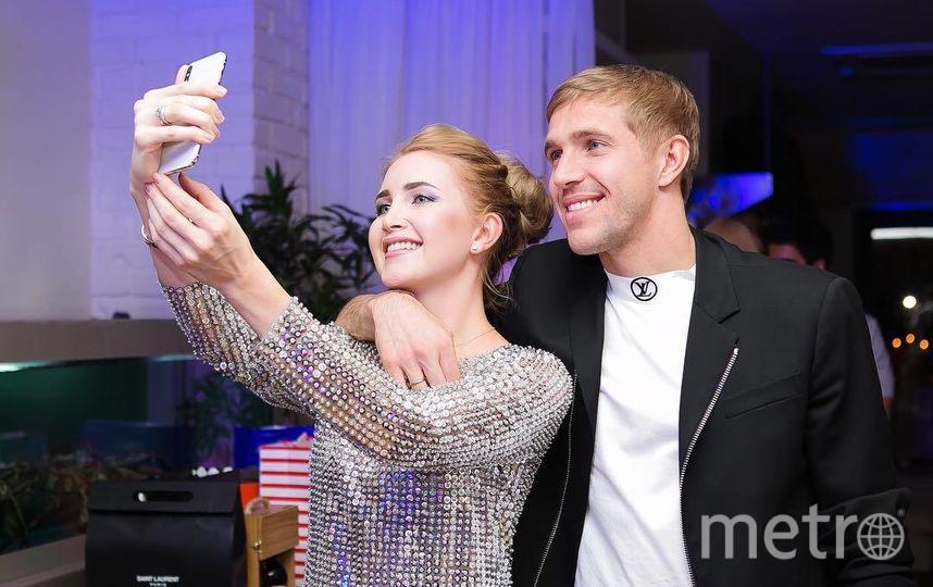 Александра и Юрий. Фото Скриншот Instagram/alexandra_gazinskaya
