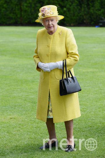 Желтый часто встречается в гардеробе королевы (июнь 2015). Фото Getty