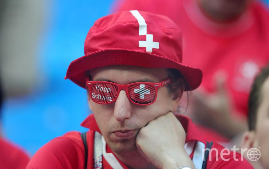 Швейцарские фанаты. Фото Getty