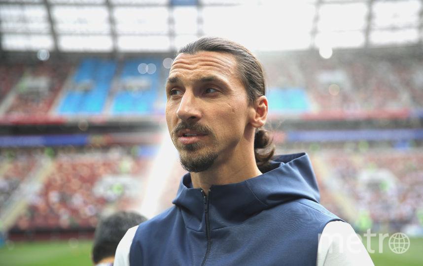 Легенда шведского футбола Златан Ибрагимович. Фото Getty