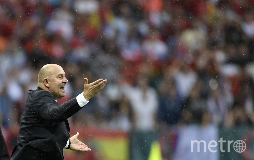 Станислав Черчесов – главный тренер сборной России. Фото AFP