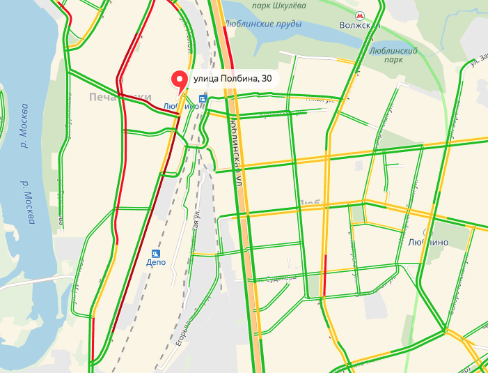 Скриншот yandex.ru/maps.