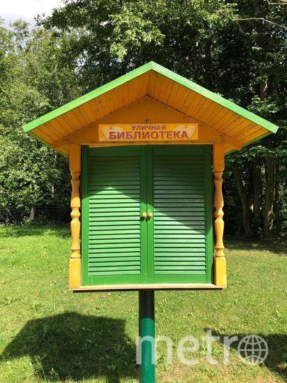 """Книжные скворечники в посёлке Мурино никогда не пустуют. Фото предоставлено Анжелой Латыниной, """"Metro"""""""
