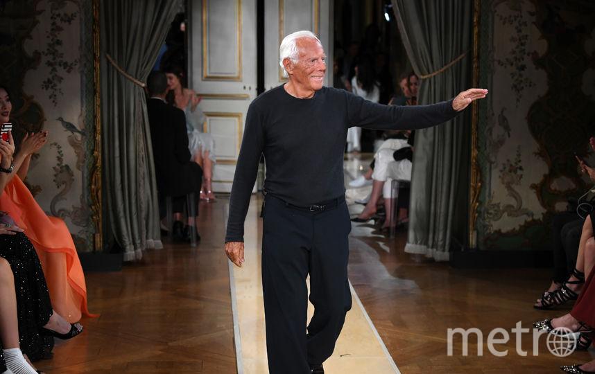 Giorgio Armani. Фото Getty