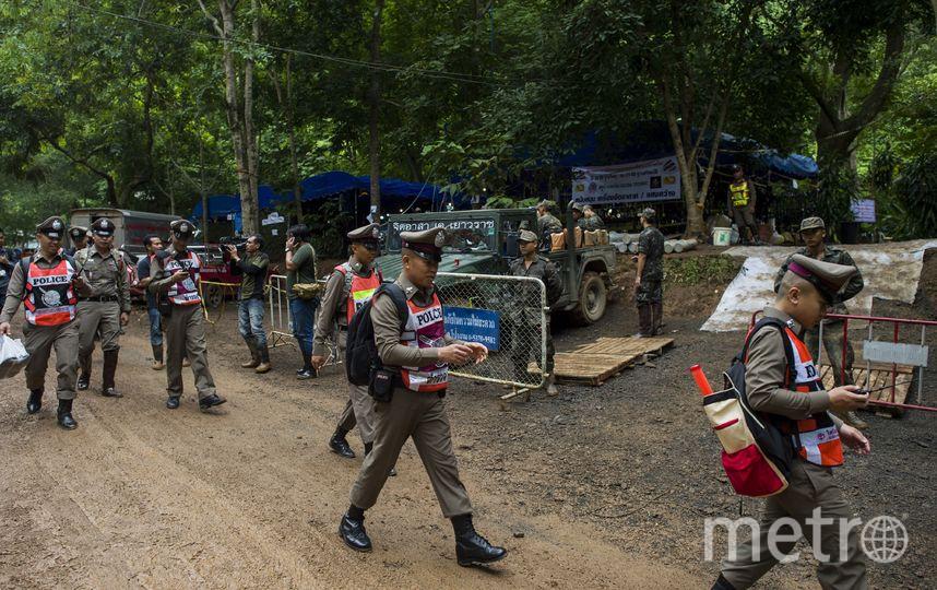 Военные Таиланда на месте событий. Фото AFP