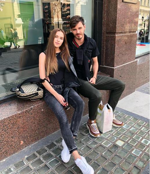 Александр и Вероника Ерохины. Фото Скриншот Instagram: erokhina_nika