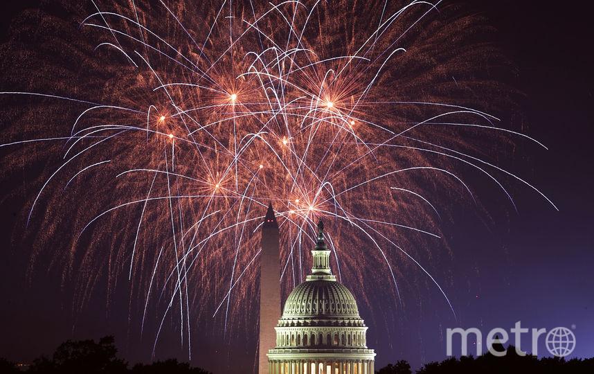 Фейерверк в честь Дня независимости США. Фото Getty