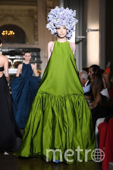 Показ Valentino на Неделе высокой моды в Париже-2018. Фото Getty