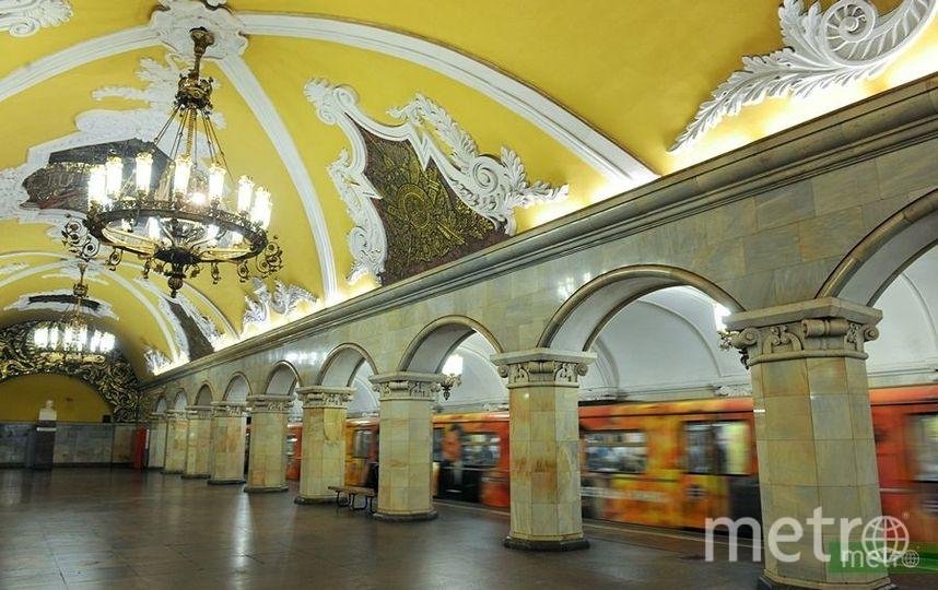 Иностранные болельщики назвали самые красивые станции московского метро. Фото Василий Кузьмичёнок