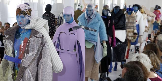 Maison Margiela на Неделе высокой моды в Париже-2018.