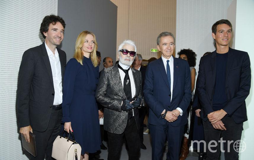 Карл Лагерфельд на Неделе высокой моды в Париже. Фото Getty