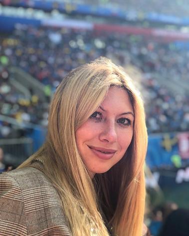 Болельщица матча Швеция – Швейцария. Фото Instagram/nalapalam