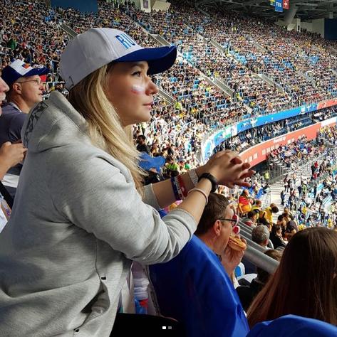 Болельщица матча Швеция – Швейцария. Фото Instagram/margarita_pchel
