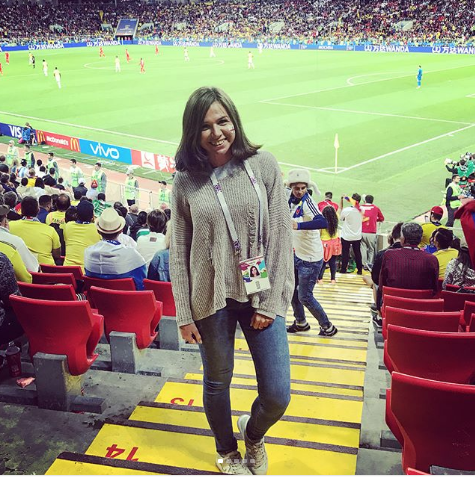 Болельщица матча Колумбия – Англия. Фото Instagram/dai_lave