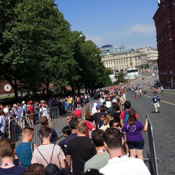 Мавзолей Ленина вызвал ажиотаж у гостей мундиаля. Фото instagram.com/so_love_j/?hl=ru
