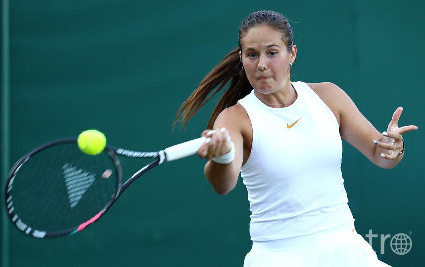 Российская теннисистка Дарья Касаткина. Фото Getty