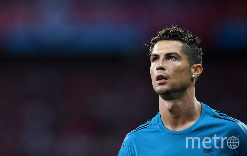 Португальский футболист Криштиану Роналду. Фото Getty