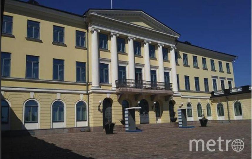 Президентский дворец в Хельсинки. Фото https://www.instagram.com/lucyflighttravel_lft/