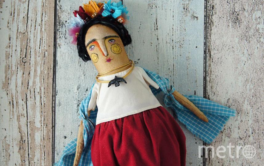 Самая первая текстильная кукла Ольги. Фото https://www.instagram.com/olga.cherepanava/