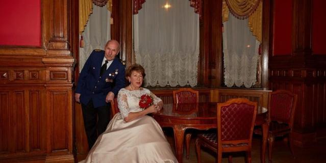 Татьяна и Виктор Черепнины отметили золотую свадьбу, в планах – бриллиантовая.
