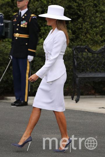 Мелания Трамп и ее образы. Фото Getty