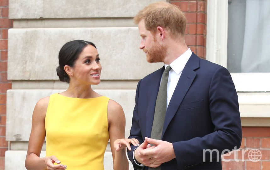 Меган Маркл и принц Гарри на встрече с представителями стран Содружества. Фото Getty