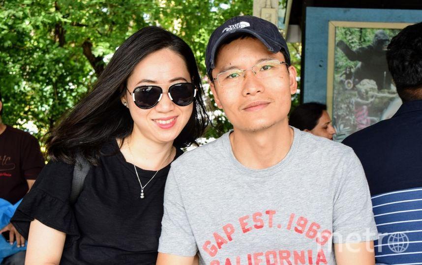 Минь и Линь, Вьетнам. Фото предоставлено героями