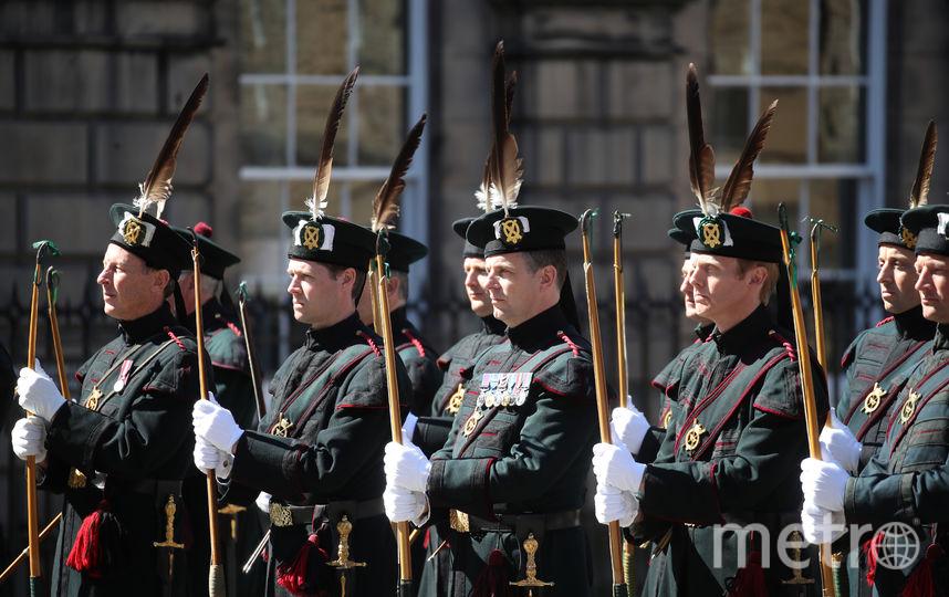 Эдинбург. Елизавета II. Орден Чертополоха. Фото Getty