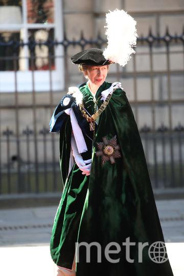 Принцесса Анна - дама ордена Чертополоха. Фото Getty
