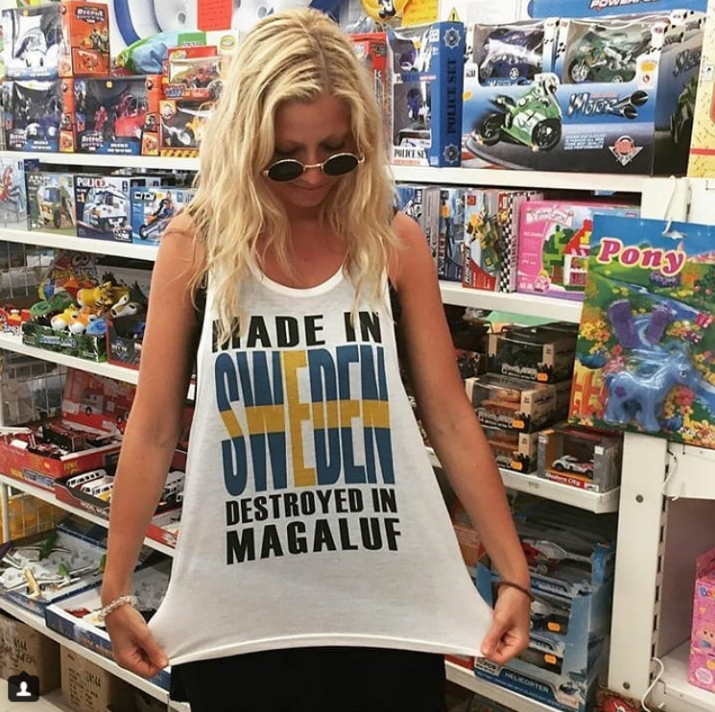 Шведские болельщицы названы самыми сексуальными. Фото Скриншот Instagram:@sigridbernson