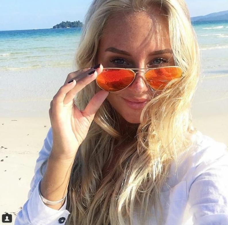 Шведские болельщицы названы самыми сексуальными. Фото Скриншот Instagram:@sannaaaeriksson