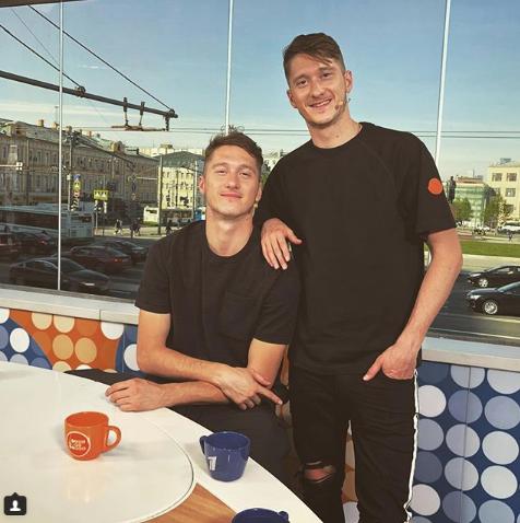 Антон и Алексей Миранчуки. Фото Instagram/miranchuk__jr60