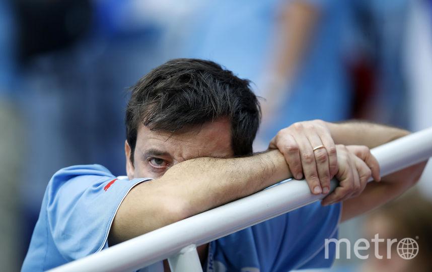 Сборная Франции выиграла у сборной Уругвая со счётом 2:0. Фото Getty