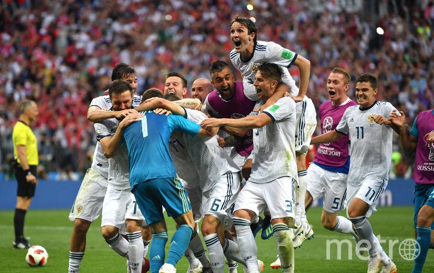 Во время матча Россия-Испания. Фото Getty