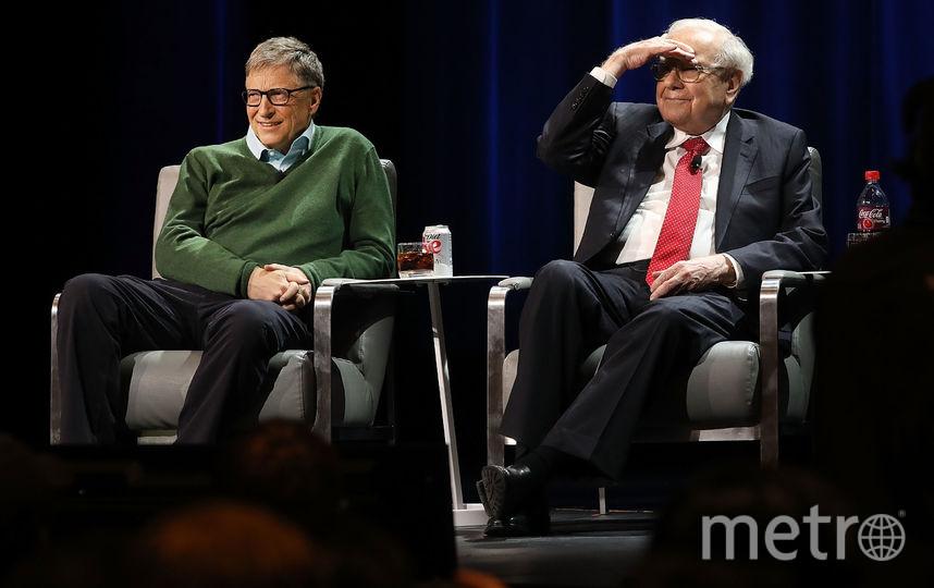 Билл Гейтс и Уоррен Баффет. Фото Getty
