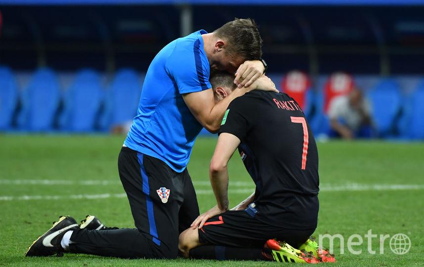 Россияне проиграл хорвата по пенальти на чемпионате мира. Фото AFP