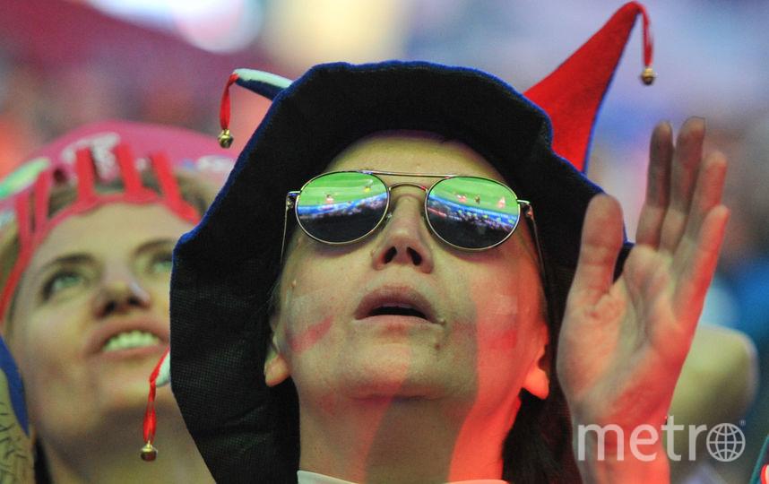 """В фан-зоне на Конюшенной площади. Фото Святослав Акимов, """"Metro"""""""