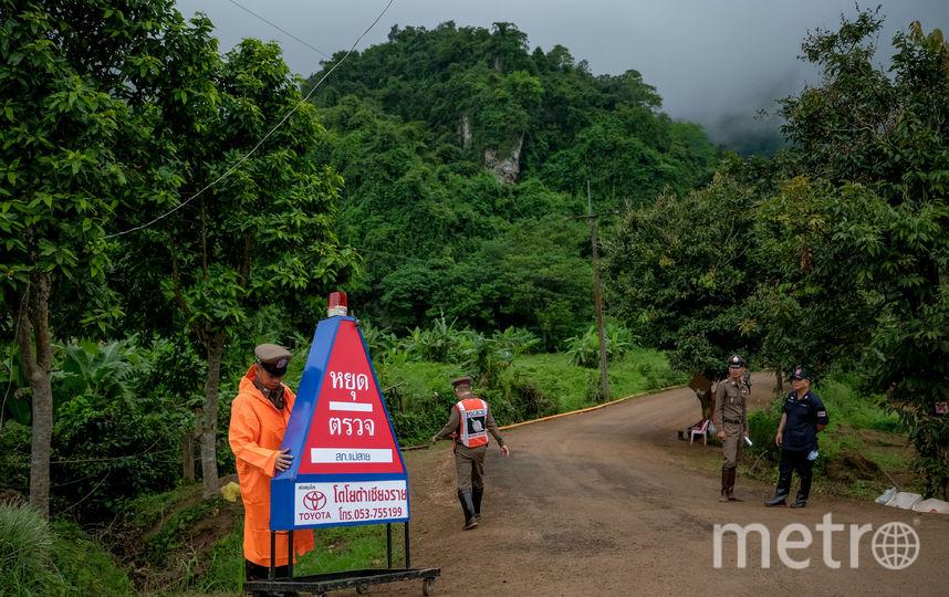 Спасательная операция 8 июля. Фото Getty