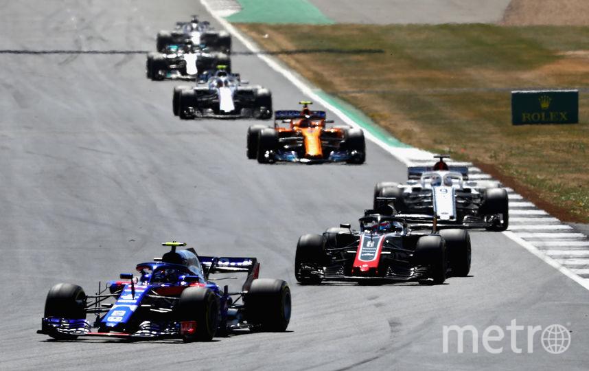 Старт Гран-при Великобритании. Фото Getty