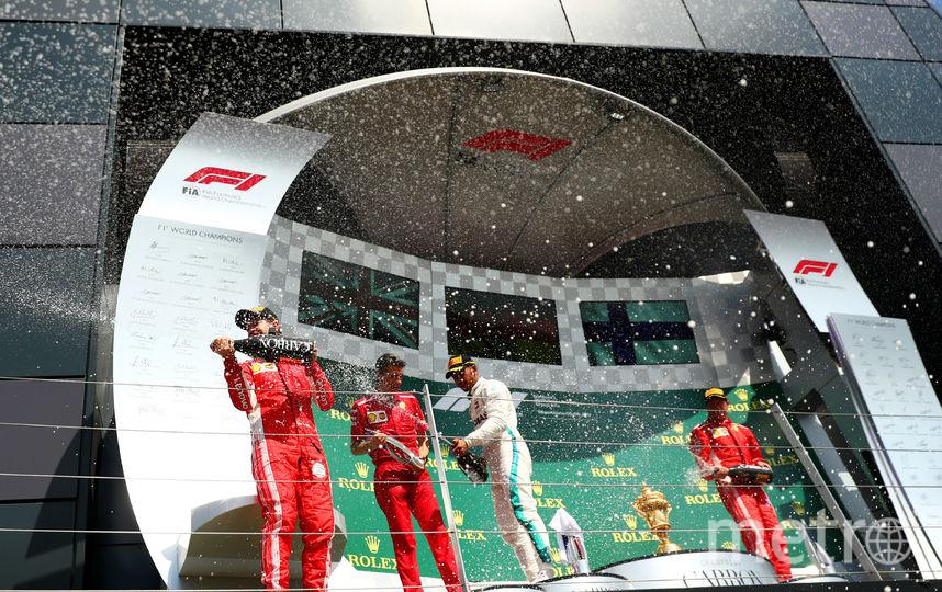 Гран-при Великобритании - победители. Фото Getty