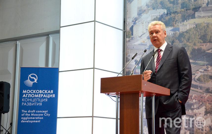 Сергей Собянин, архив. Фото Василий Кузьмичёнок