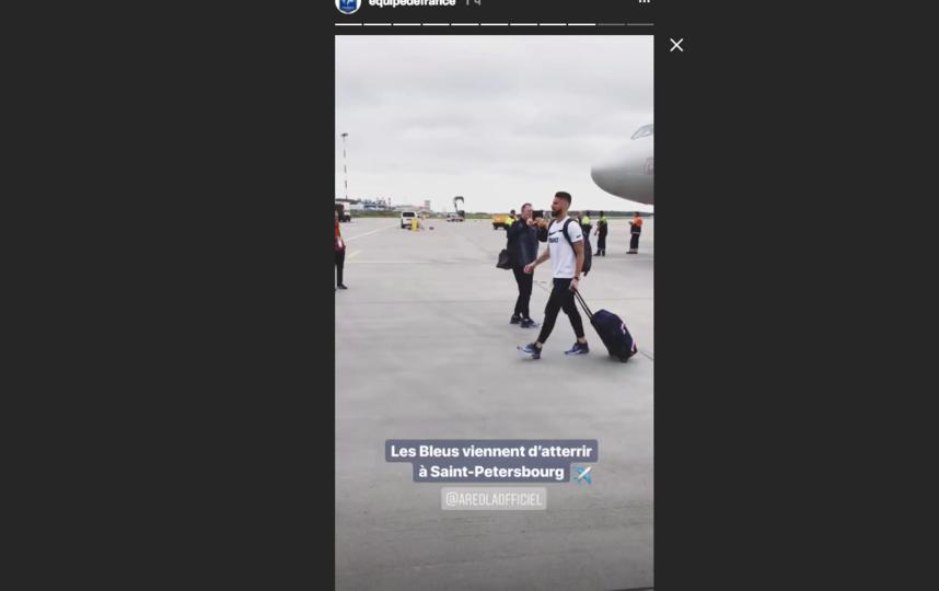 В соцсети появилось видео с футболистами. Фото instagram.com/equipedefrance