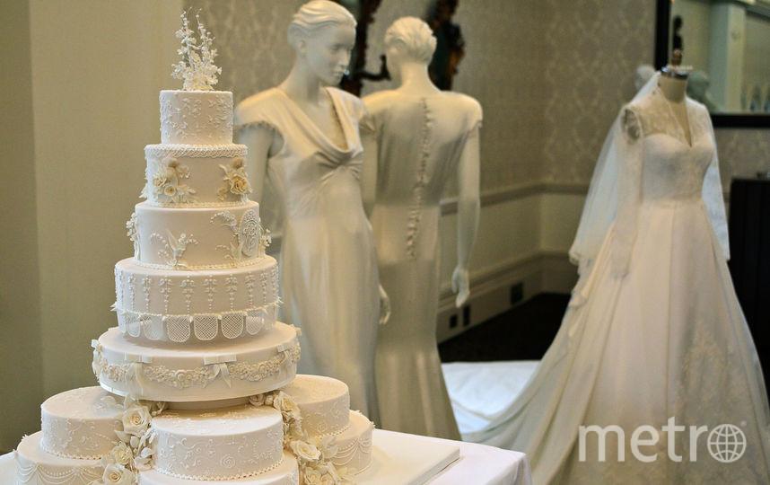 Свадебный торт принца Уильяма и Кейт Миддлтон. Фото Getty