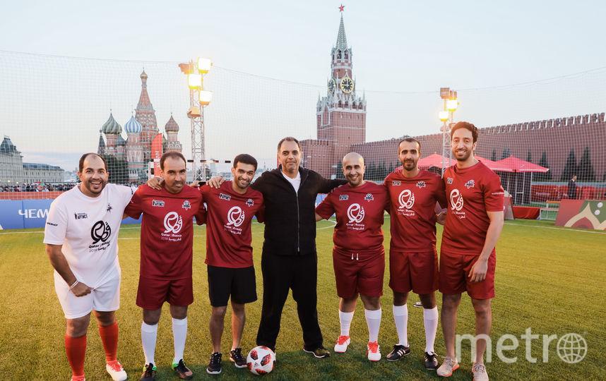 Сборная Катара. Фото Предоставлено организаторами мероприятия.