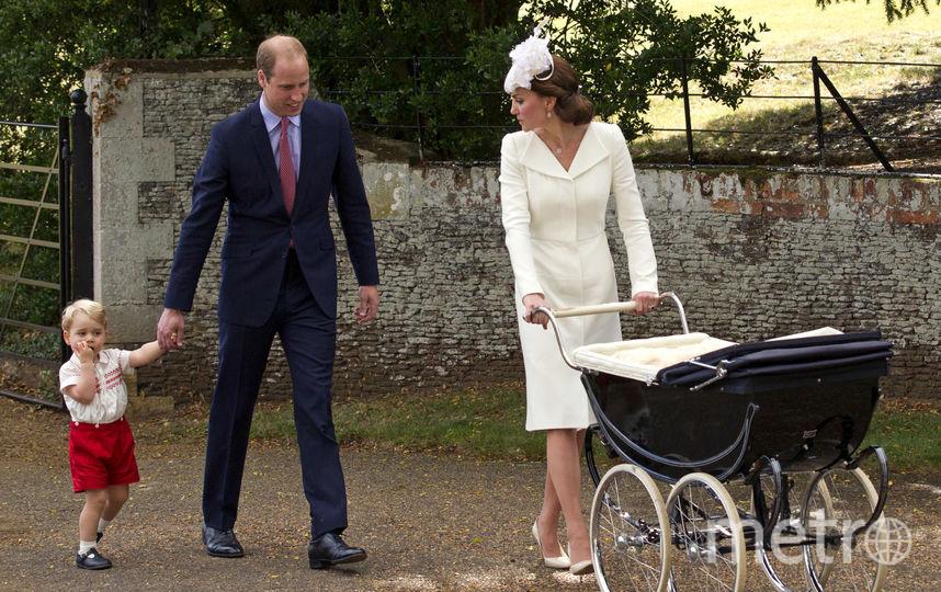 Так выглядела Кейт Миддлтон на крестинах принцессы Шарлотты. Фото Getty