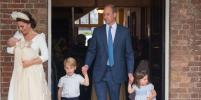 Крестины принца Луи: шляпку Кейт Миддлтон сравнили с кокошником